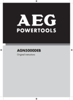 Aeg agn5000deb manual 1