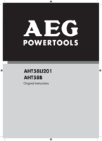 Aeg aht58b manual 1