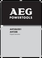 Aeg aht58b manual 1