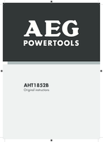 Aeg aht1852b manual 1