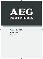 Aeg alm58b manual 1