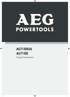 Aeg alt18b manual 1