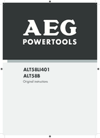 Aeg alt58b manual 1
