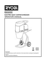 Ryobi rsh2455g manual 1