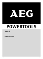 Aeg bbh18 0 manual 1