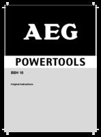 Aeg bbh18 0 manual 1