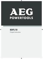 Aeg bdfl18 0 manual 1