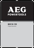 Aeg bex18 125 0 manual 1