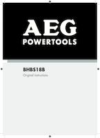 Aeg bhbs18b 0 manual 1