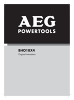 Aeg bho18x4 0 manual 1