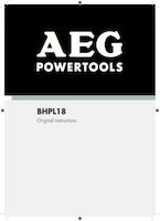 Aeg bhpl18 0 manual 1