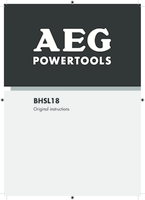 Aeg bhsl18 0 manual 1