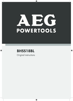 Aeg bhss18bl 0 manual 1