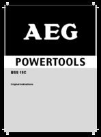 Aeg bss18c 0 manual 1