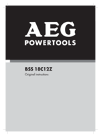 Aeg bss18c12z 0 manual 1