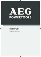 Aeg bss18op 0 manual 1
