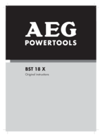 Aeg bst18x4 0 manual 1