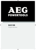 Aeg bus18b 0 manual 1