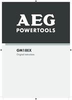 Aeg gm18ex 0 manual 1