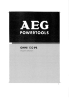Aeg omni12cx 0 manual 1