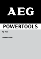 Aeg pl750 manual 1