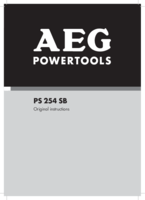Aeg ps254sb manual 1