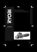 Ryobi rcs2340b user manual