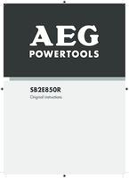 Aeg sb2e850r manual 1