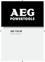 Aeg sbe750re manual 1