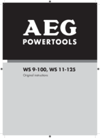 Aeg ws11 125kit2 manual 1