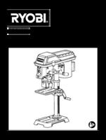 Ryobi rdp102l manual 1