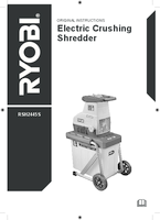 Ryobi rsh2445s  user manual