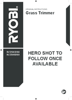 Ryobi rbc254seso user manual