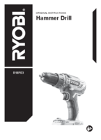 Ryobi r18pd3 0 user manual 1