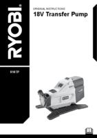 Ryobi r18tp 0 user manual