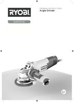 Ryobi eag75125 g user manual