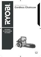 Ryobi rcs36x52 user manual