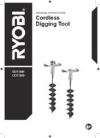 Ryobi odt1800 user manual