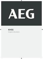 Aeg kh5g user manual