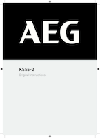 Aeg ks55 2 user manual