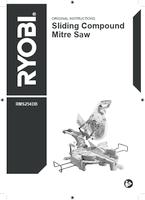 Ryobi rms254db user manual