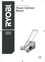 Ryobi orm1800 user manual