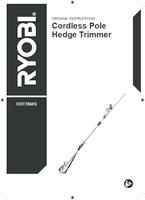 Ryobi oht1860s user manual