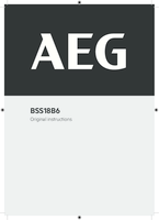 Aeg bss18b6 0 user manual