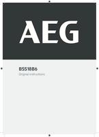 Aeg bss18b6 0 user manual
