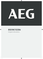Aeg bss18c12zb6 0 user manual