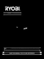 Ryobi csd4107bg manual 1