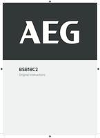 Aeg bsb18c2 0  user manual
