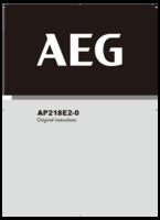 yb亚博首页AEG AP218E用户手册