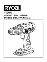 Ryobi lcd1802g manual 1